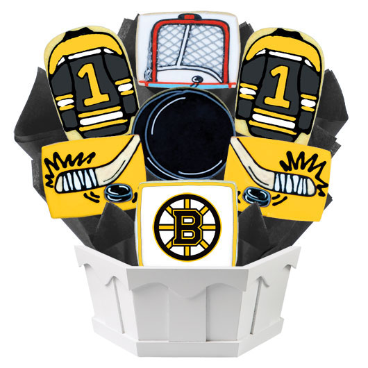 Hockey Bouquet - Boston Cookie Bouquet