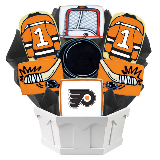 Hockey Bouquet - Philadelphia Cookie Bouquet