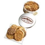 TIN12-PNT - One Dozen Peanut Butter Gourmet Cookies