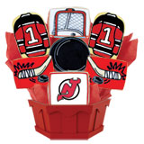 NHL1-NJD - Hockey Bouquet - New Jersey