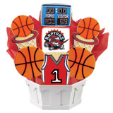 NBA1-TOR - Pro Basketball Bouquet - Toronto