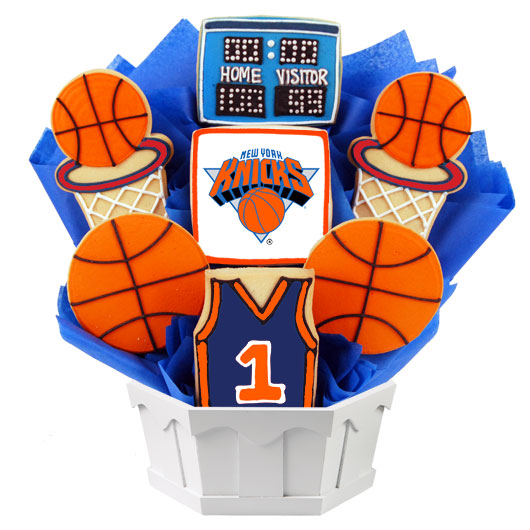 Pro Basketball Bouquet - New York Cookie Bouquet