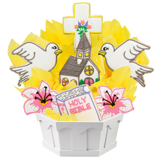 Blessed Easter Cookie Bouquet