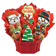 a275 merry christmas - Christmas Cookie Baskets
