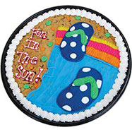 PC33 - Flip Flop Fun Cookie Cake