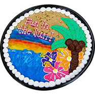 PC34 - Fun In The Sun Cookie Cake