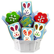 Gluten free cookies l gluten free gift baskets cookies by design gf308 gluten free easter patchwork bunnies negle