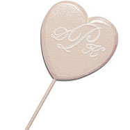 IDC40 - Monogrammed Wedding Heart