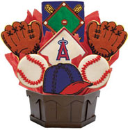 MLB1-LAA - MLB Bouquet - Los Angeles Angels of Anaheim