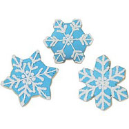 CFA17 - Snowflake Ice Cookie Favors