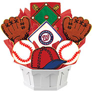 MLB1-WAS - MLB Bouquet - Washington Nationals