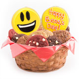 W447 - Sweet Emojis Boss Day Basket