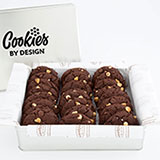 TIN24-WCC - Tin of Two Dozen Decadent Chocolate Gourmet Cookies