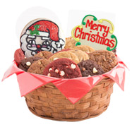 Gluten free cookies l gluten free gift baskets cookies by design gfw275 gluten free merry christmas basket negle Image collections