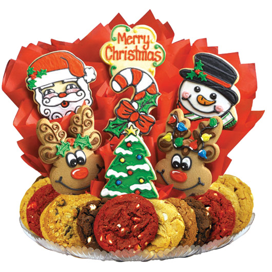 Merry Christmas Gourmet Gift Basket