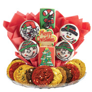 Gluten free cookies l gluten free gift baskets cookies by design gfb275 gluten free merry christmas boutray negle Choice Image