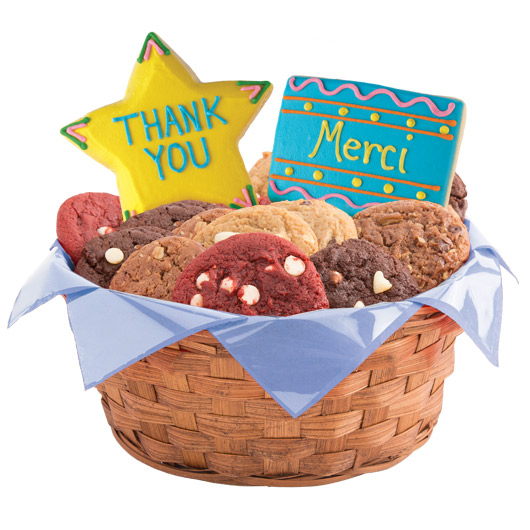World of Thanks Cookie Basket