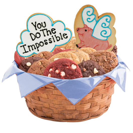 When Pigs Fly Cookie Basket