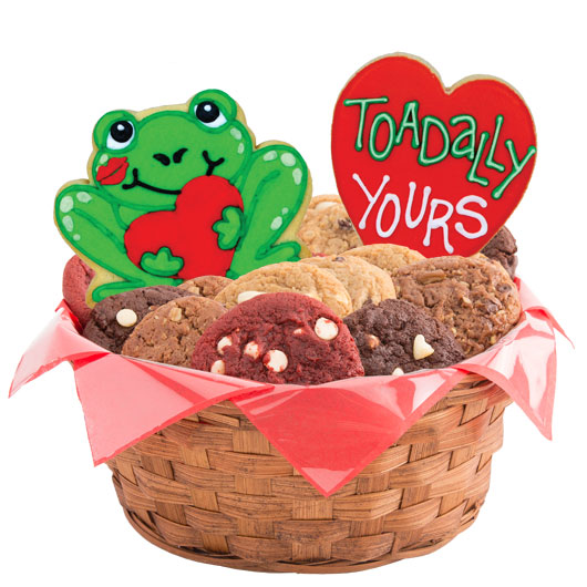 Toadally Yours Cookie Basket