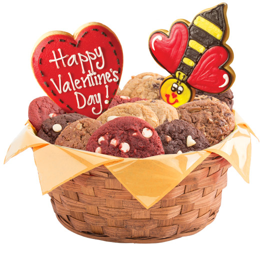 "I'll ""Bee"" Yours Forever Cookie Basket"