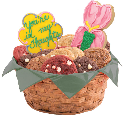 Deepest Sympathy Cookie Basket