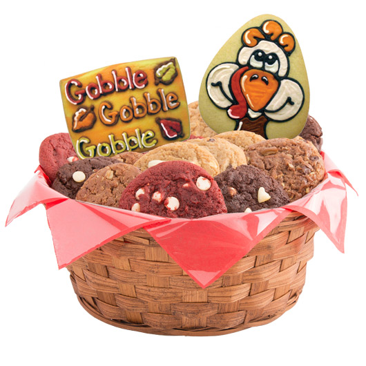 Gobble Gobble Cookie Basket