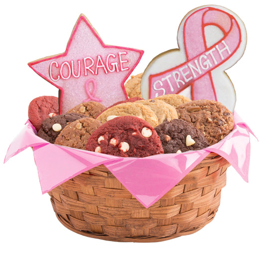 Hope, Faith, Love, Awareness Cookie Basket