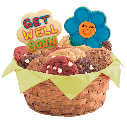 Share a smile daisies gluten free cookie basket cookies by design gluten free share a smile daisies basket negle Choice Image