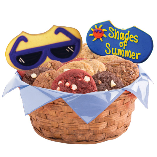 Shades of Summer Cookie Basket