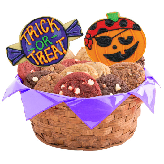 pumpkin bash cookie basket