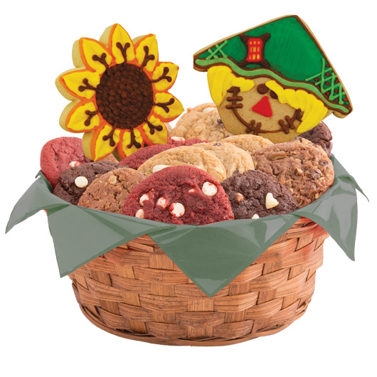 Harvest Happiness Cookie Basket