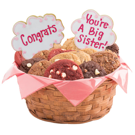 You're A Big Sister Cookie Basket