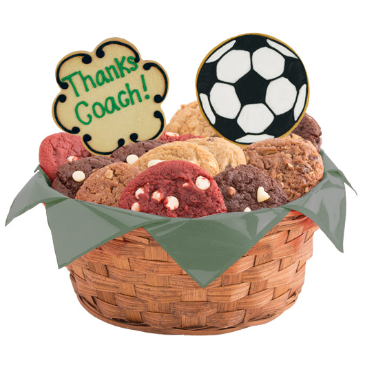 Soccer Thank You Cookie Basket