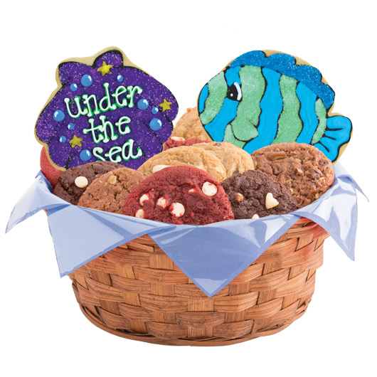 Under The Sea Cookie Basket