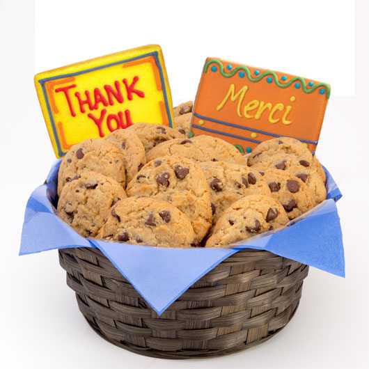 Many thanks gluten free cookie basket cookies by design gluten free many thanks basket negle Image collections