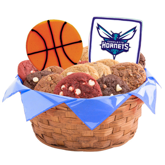 Pro Cookie Basketball Cookie Basket - Charlotte