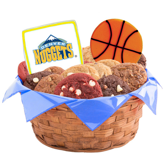 Pro Cookie Basketball Cookie Basket - Denver