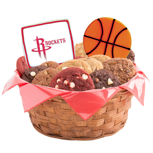 Pro Cookie Basketball Cookie Basket - Houston