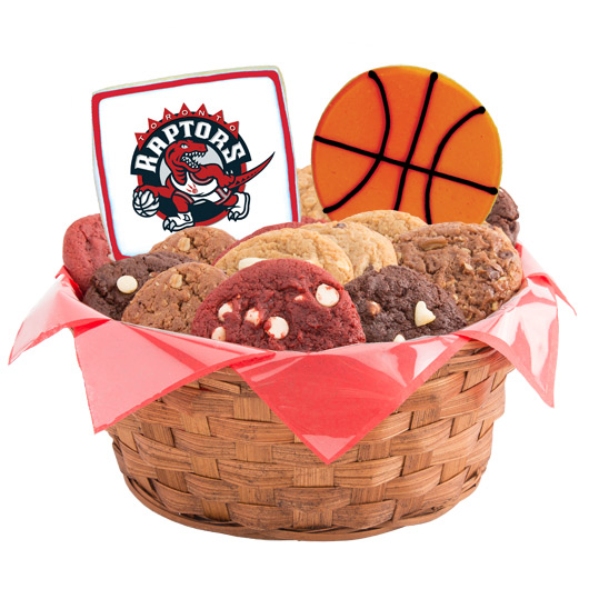 Pro Cookie Basketball Cookie Basket - Toronto