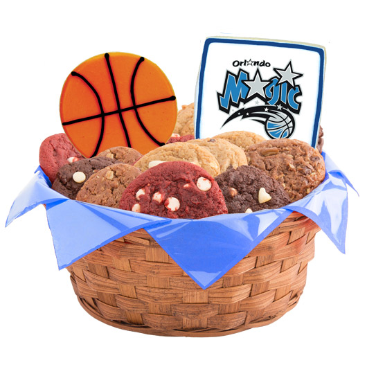 Pro Cookie Basketball Cookie Basket - Orlando