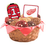 WNHL1-DET - Hockey Basket - Detroit Red