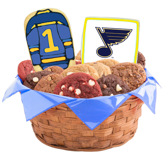 Hockey Cookie Basket - St Louis