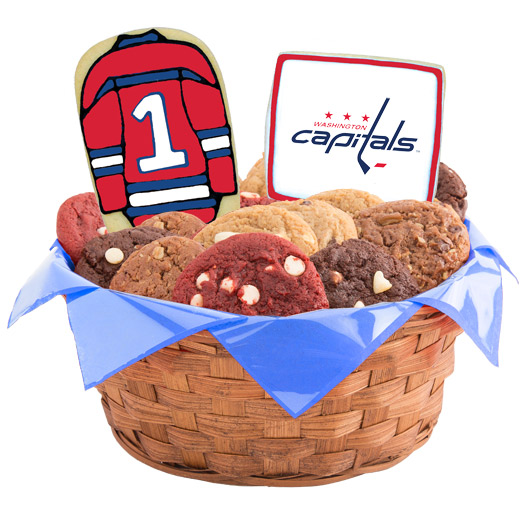 Hockey Cookie Basket - Washington