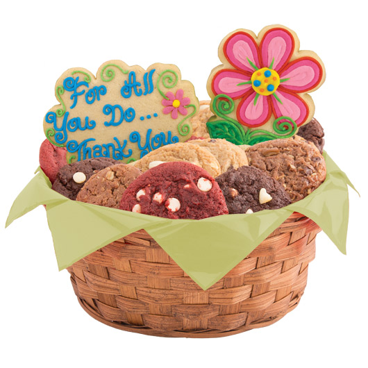 Blossoms of Thanks Cookie Basket