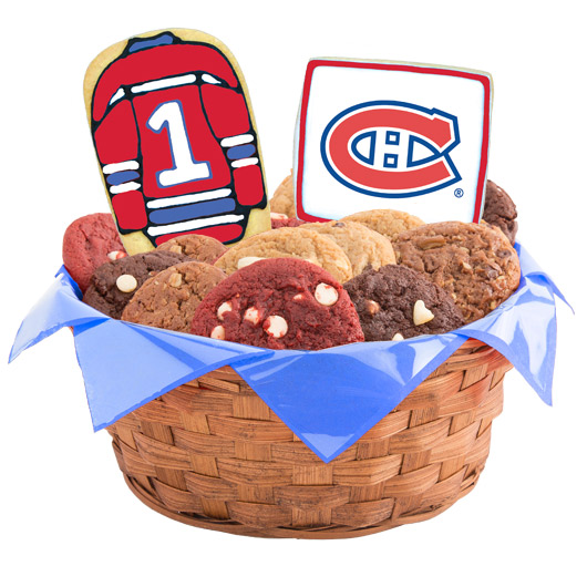 Hockey Cookie Basket - Montreal