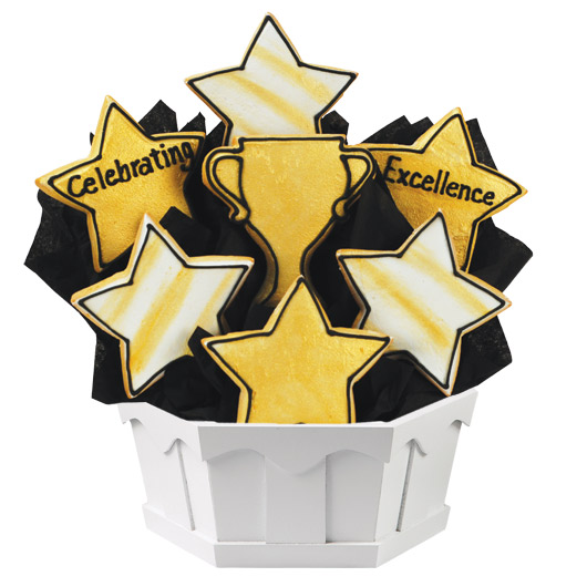 Celebrating Excellence Cookie Bouquet