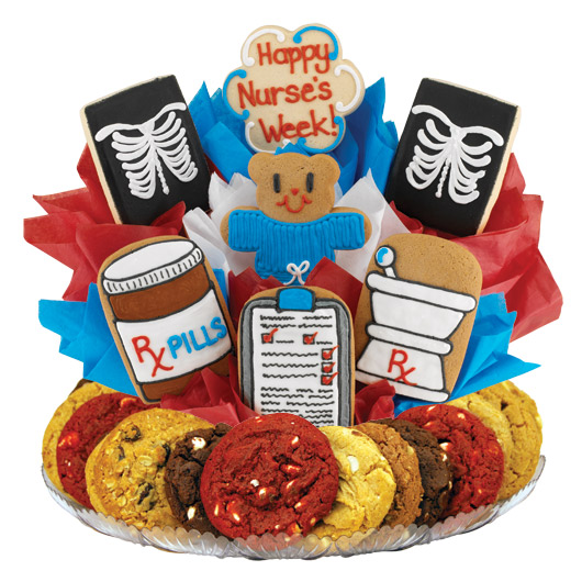 Nurse's Week X-Ray Gourmet Gift Basket