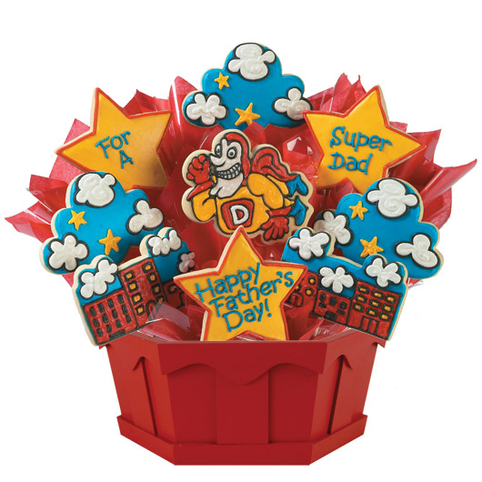 Super Dad Cookie Bouquet