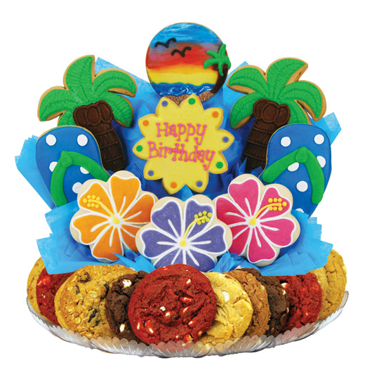 Happy Birthday Gift Baskets Delivered Cookies By Design