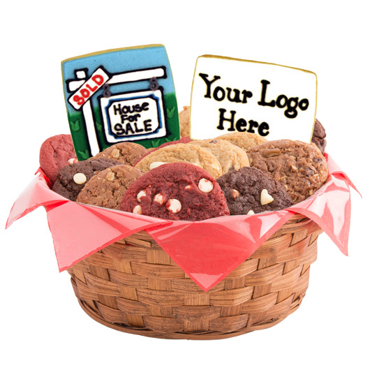 Real Estate Cookie Basket